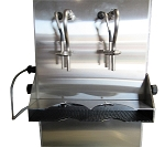 Carbonated Beverage Open Fill 2 Spout Can  Filler - XF2200