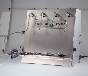 Hot Fill 4 Spout Bottle Filler - XF4100H